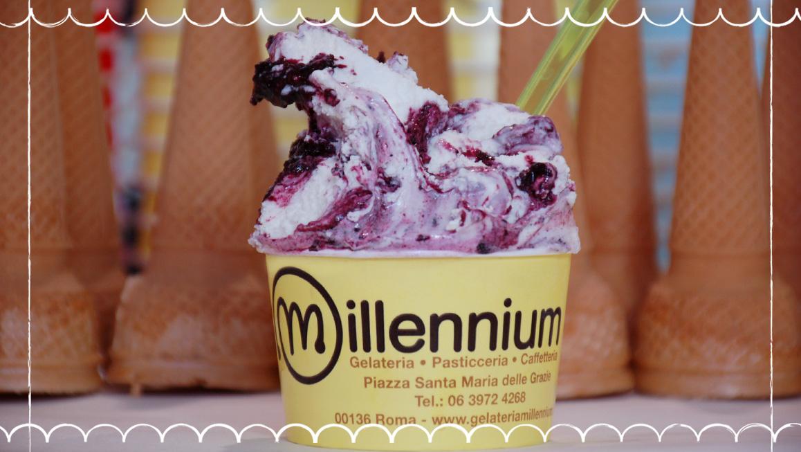 Gelato Millennium gusto frutta