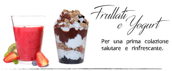 Gelateria Millennium, frullati e frozen yogurt