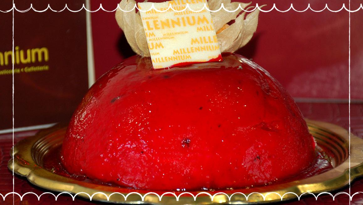 Gelateria Millennium, torta gelato a Roma Prati