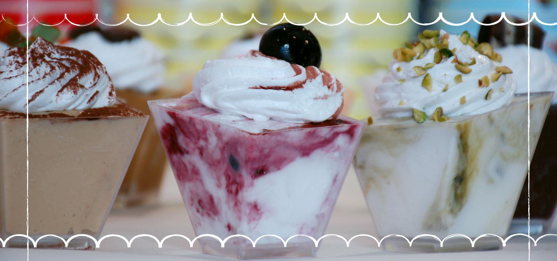 Gelateria Millennium, monoporzioni gelato artigianale a Roma Prati