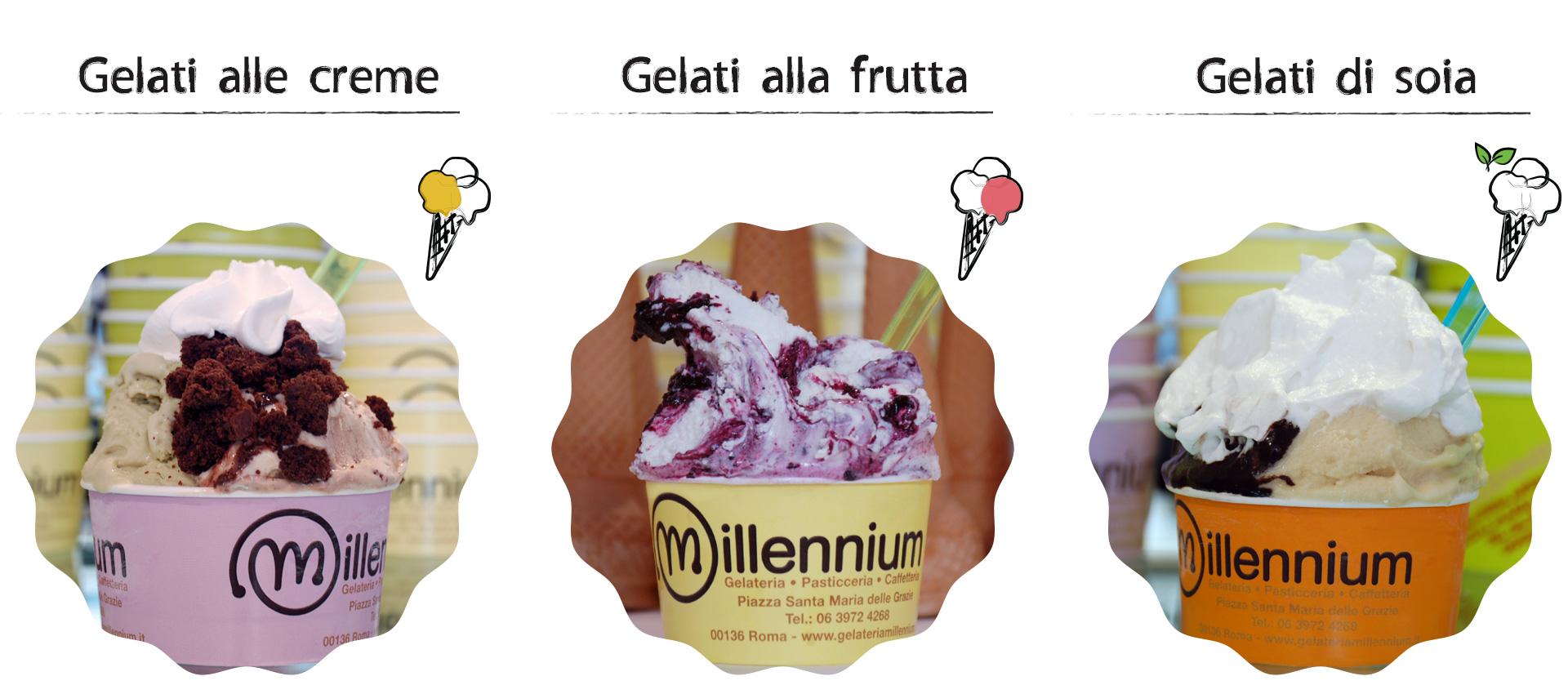 Gelateria Millennium - gelato artigianale
