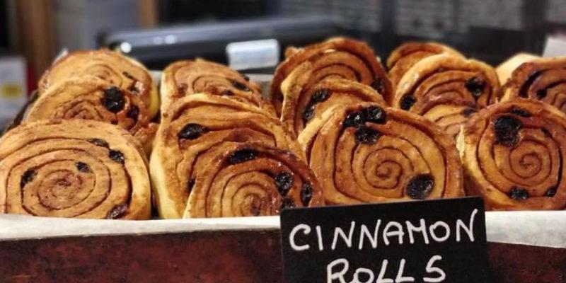 Cinnamon Rolls da Gelateria Millennium