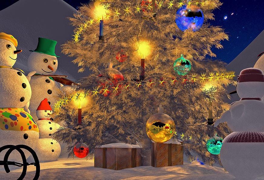 Buone feste di Natale da Gelateria Millennium