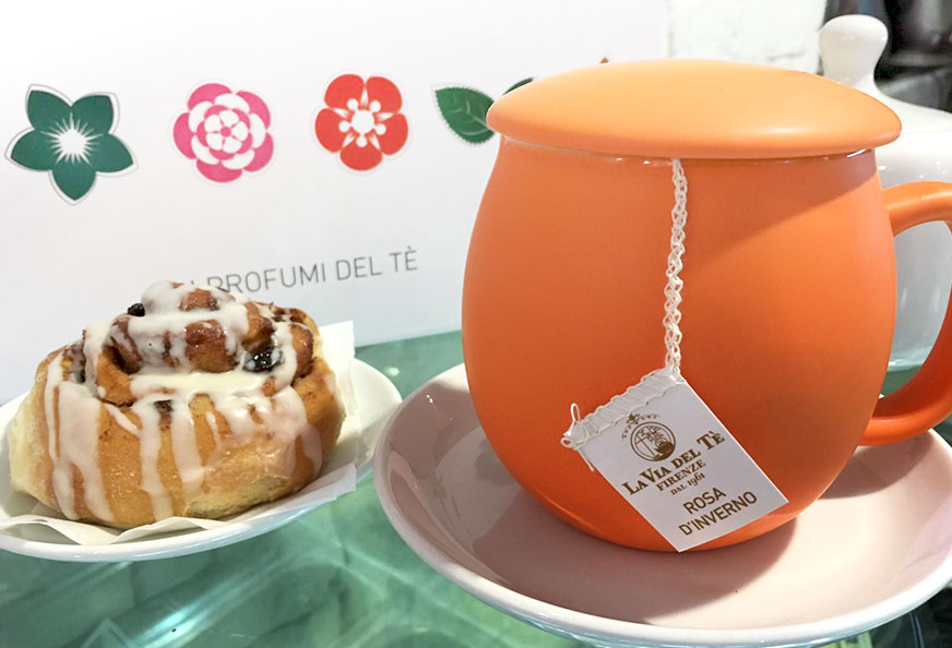 Tè pregiato La via del tè Firenze